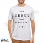Camiseta New Order - Substance 1987