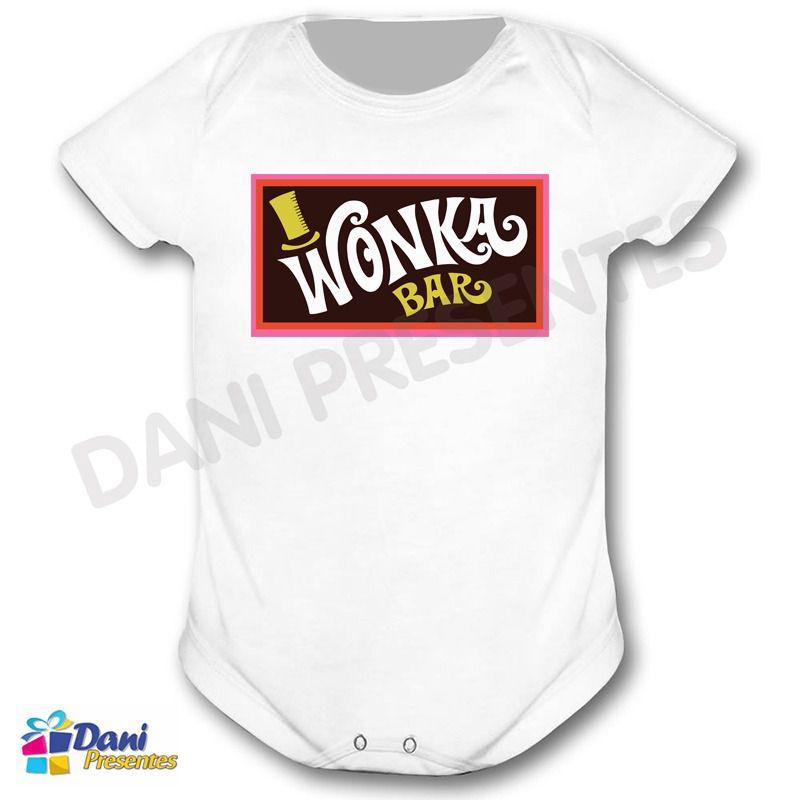 Camiseta A Fantástica Fábrica de Chocolate e Wonka Bar