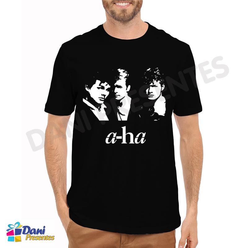 Camiseta A-ha Banda