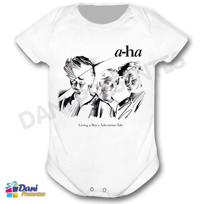 Camiseta A-ha Living a Boys Adventure Tale