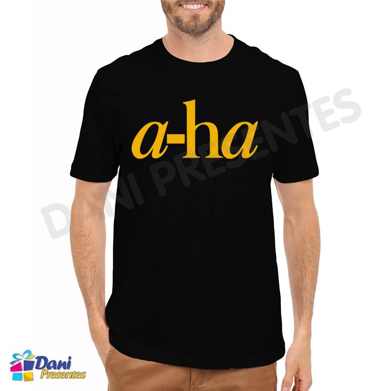 Camiseta A-ha