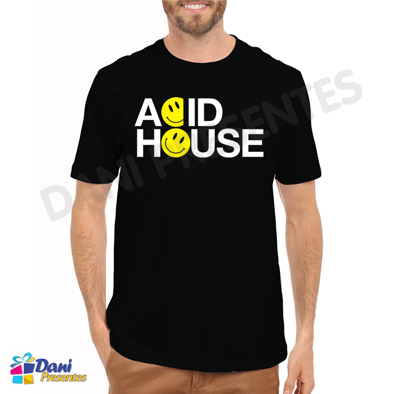 Camiseta Acid House