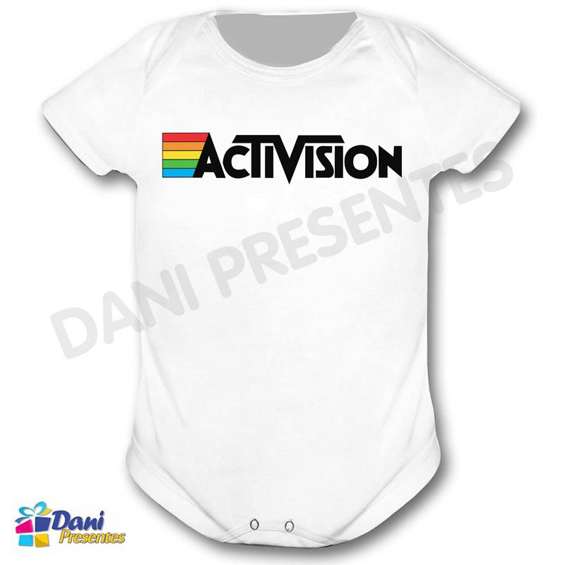 Camiseta ActiVision - Retrô Game
