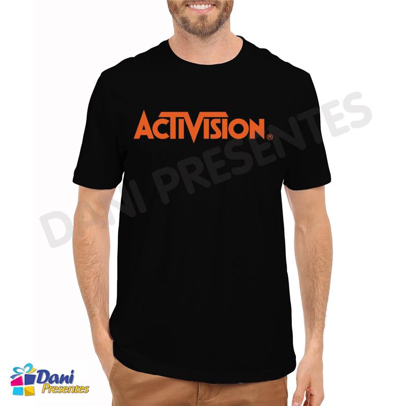 Camiseta ActiVision - Retrô Game
