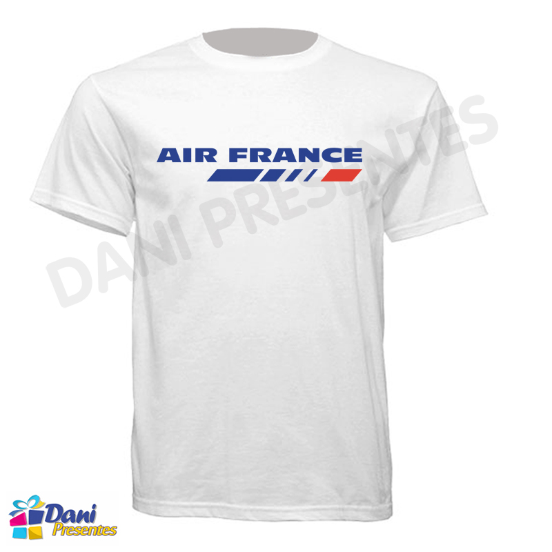 Camiseta Air France - Aviação
