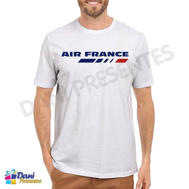 Camiseta Air France Aviação