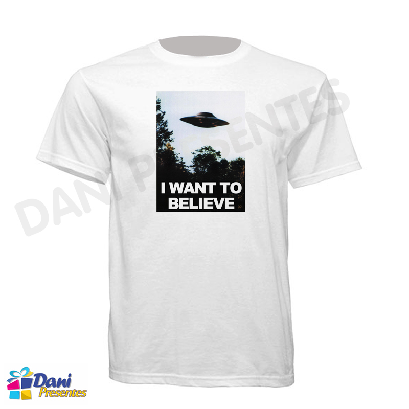 Camiseta Arquivo X - I Want to Believe