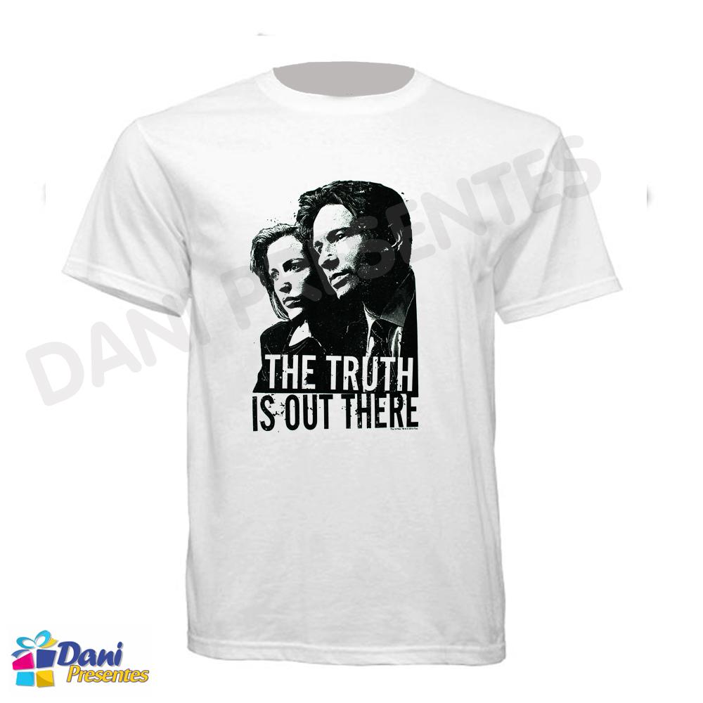 Camiseta Arquivo X - Mulder e Scully