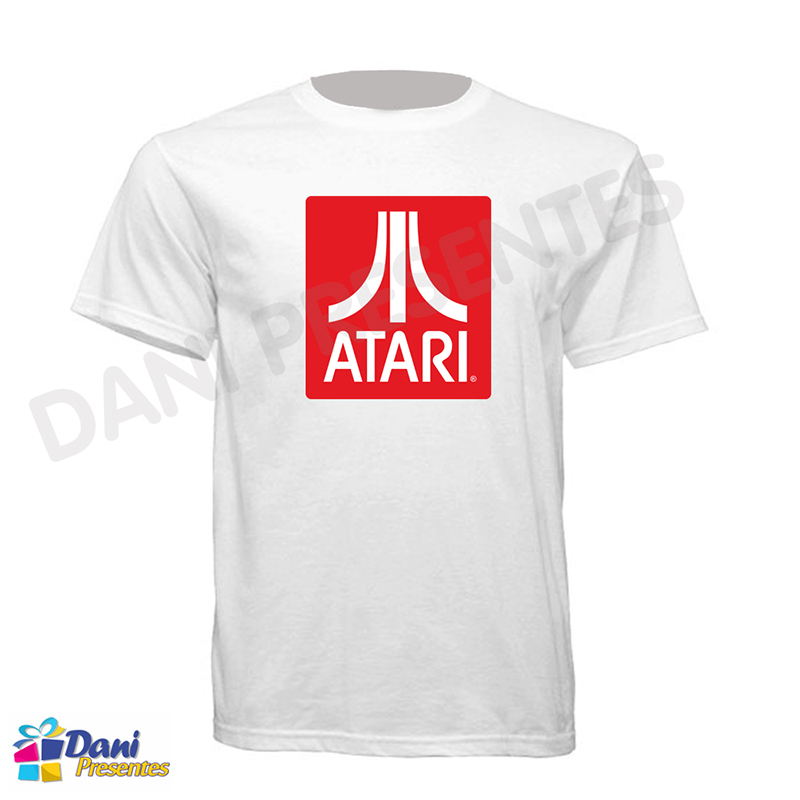 Camiseta Atari - Retrô Game