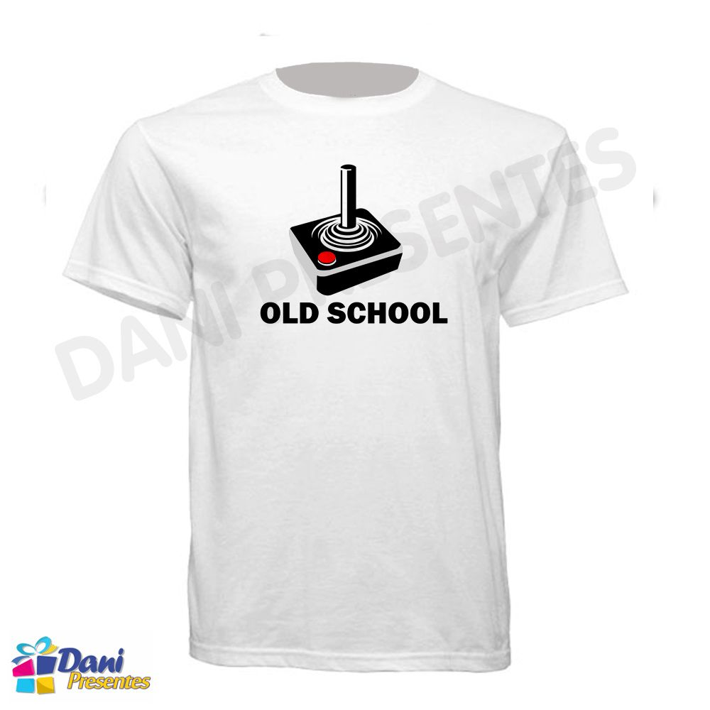 Camiseta Atari Joystick - Old School - Retrô Game