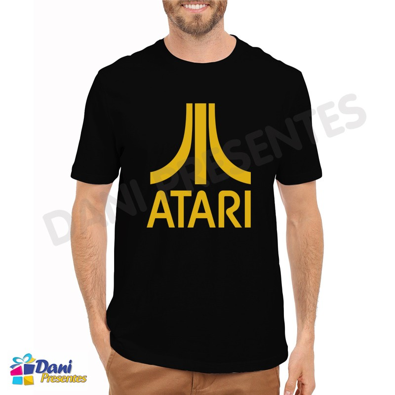 Camiseta Atari Retrô Game
