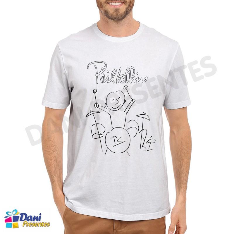 Camiseta Autógrafo Phil Collins