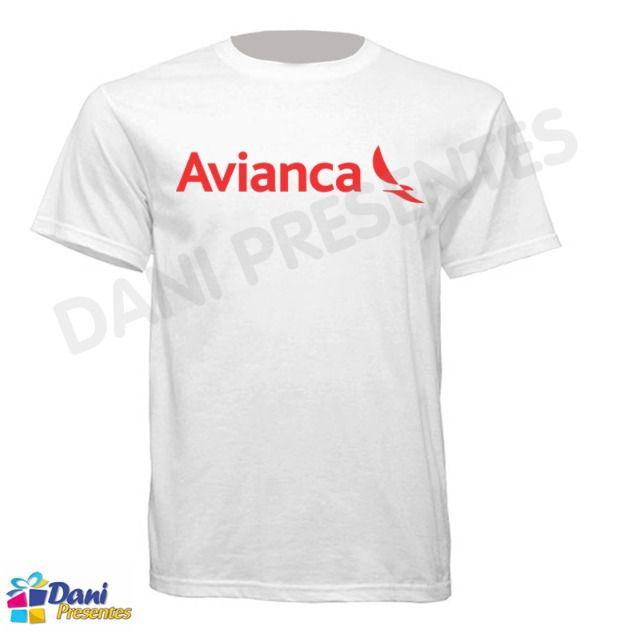 Camiseta Avianca Brasil - Aviação