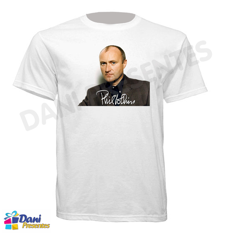 Camiseta Phil Collins