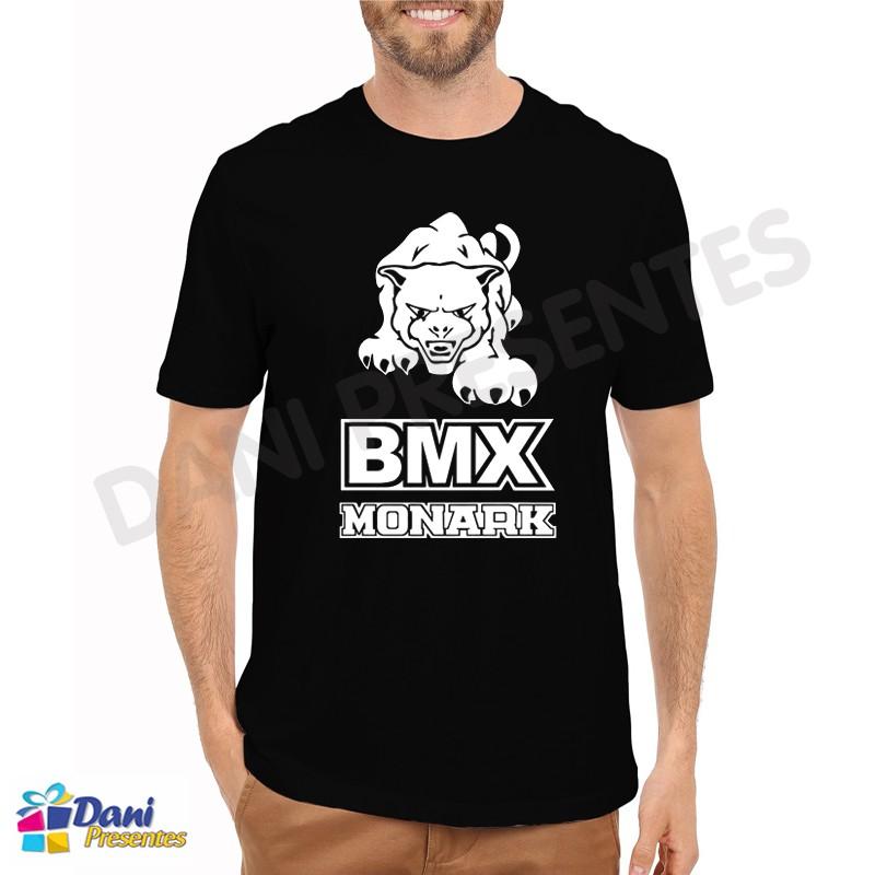 Camiseta Bike BMX Pantera Monark - Preta