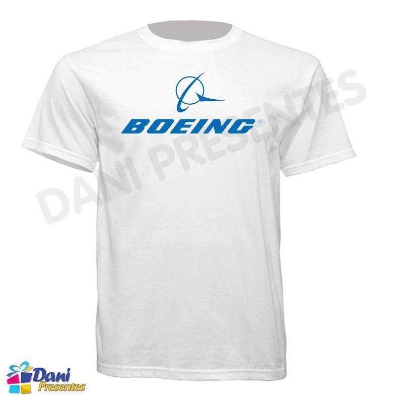 Camiseta Boeing - Aviação