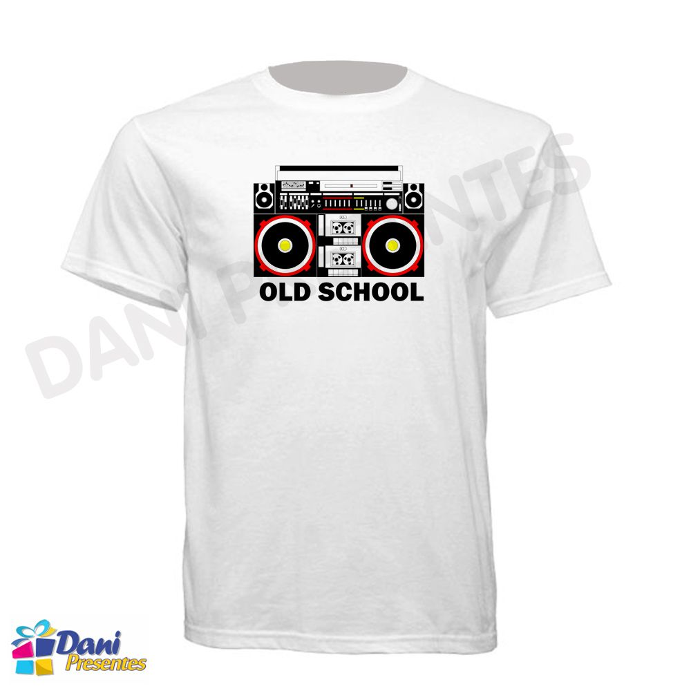 Camiseta BoomBox Sound System - Old School
