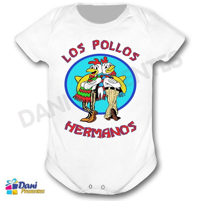 Camiseta Breaking Bad - Los Pollos Hermanos