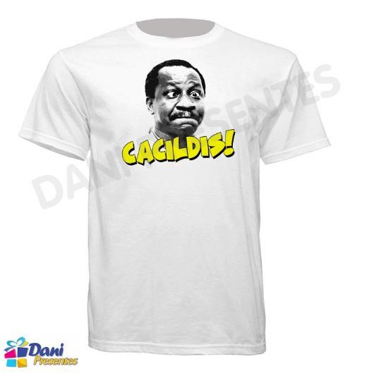 Camiseta Cacildis - Mussum
