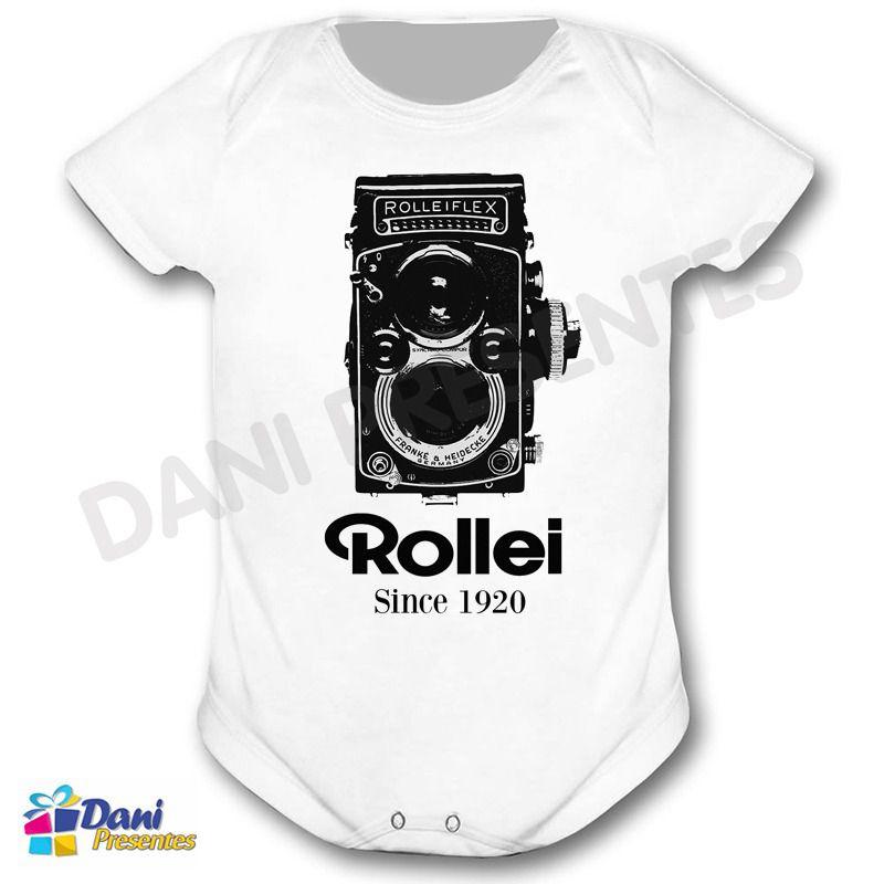 Camiseta Câmera Fotográfica Rollei Flex 1920