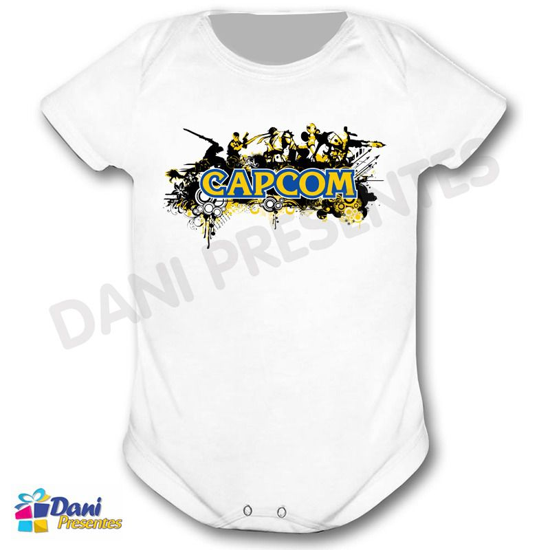 Camiseta Capcom - Retrô Game