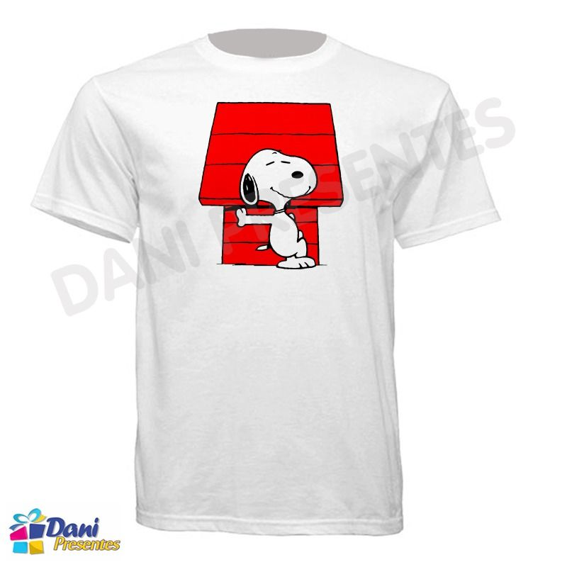 Camiseta Casinha do Snoopy