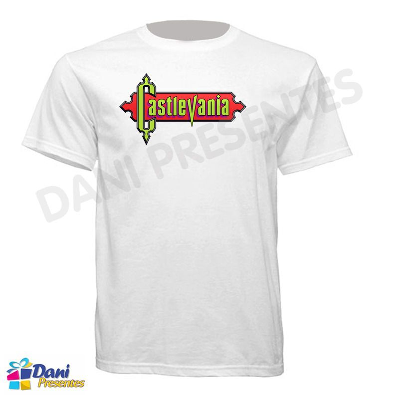 Camiseta Castlevania - Game