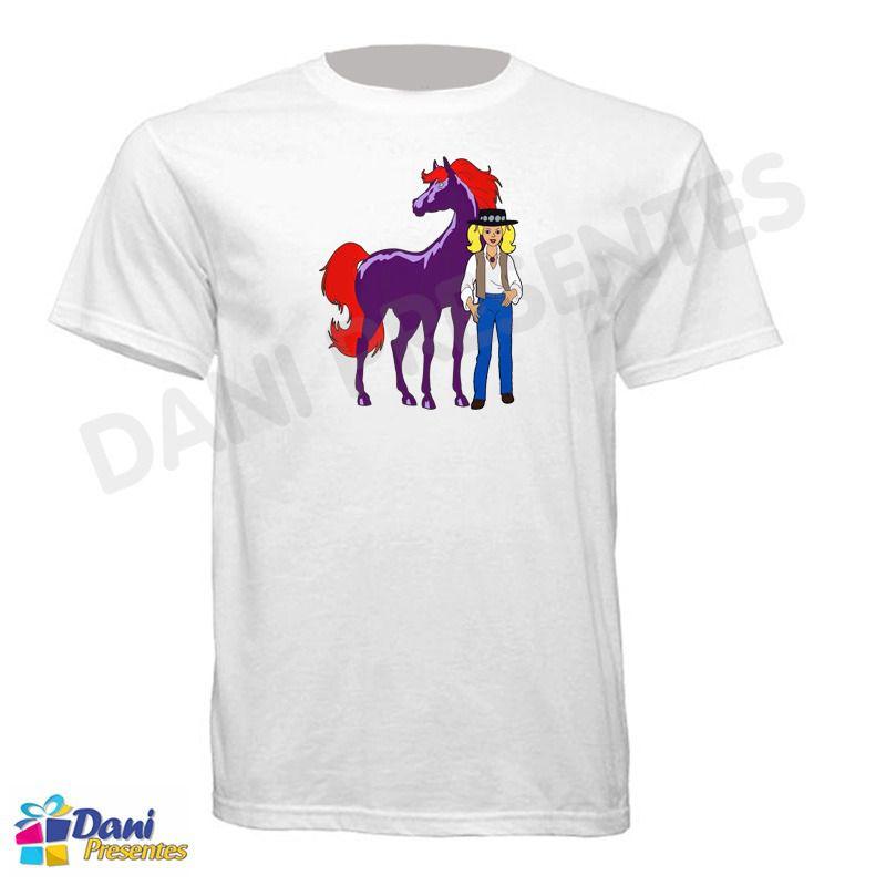 Camiseta Cavalo de Fogo - WildFire