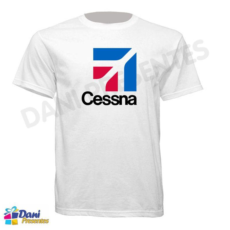 Camiseta Cessna - Aviação