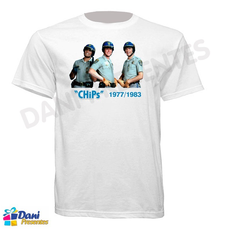 Camiseta ChiPs - California Highway Patrol 1977-1983