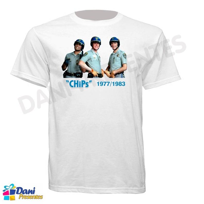 Camiseta ChiPs - California Highway Patrol 1977-1983
