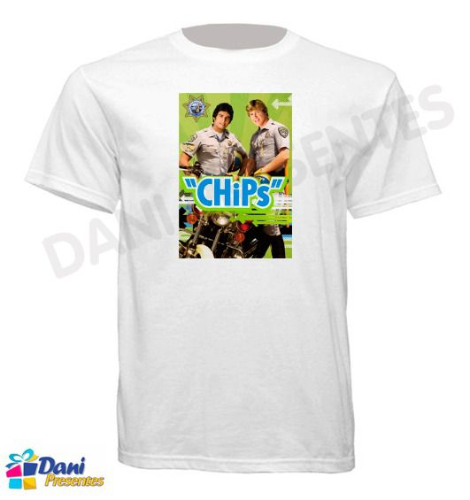 Camiseta ChiPs - California Highway Patrol II