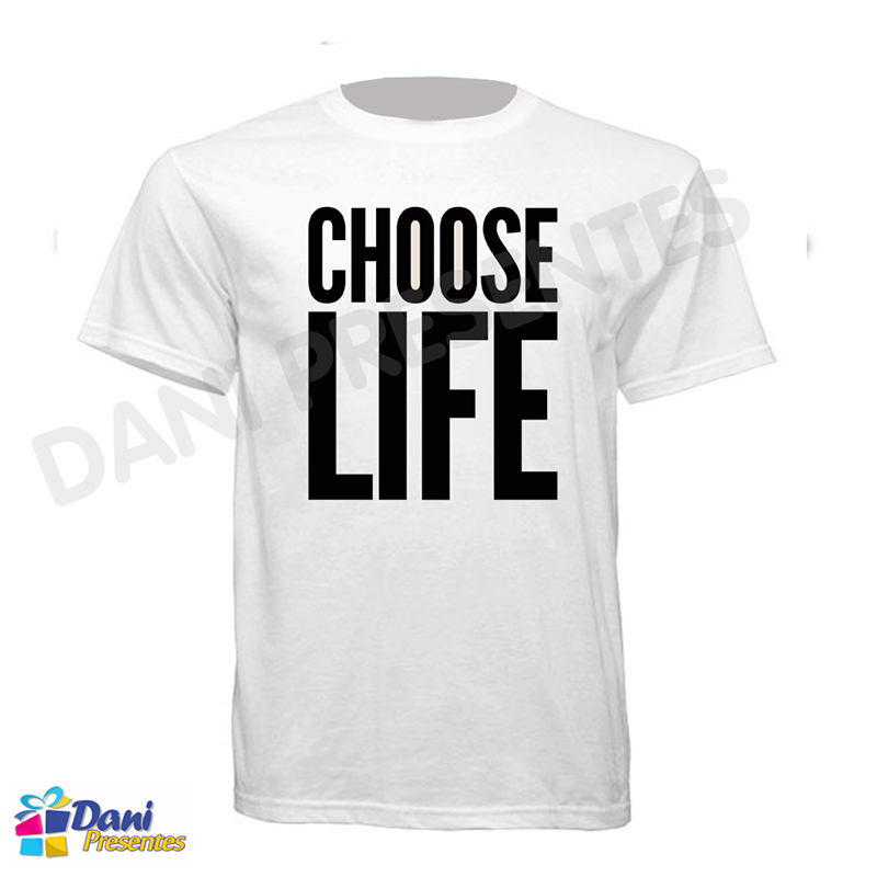 Camiseta Choose Life - George Michael - Wham!