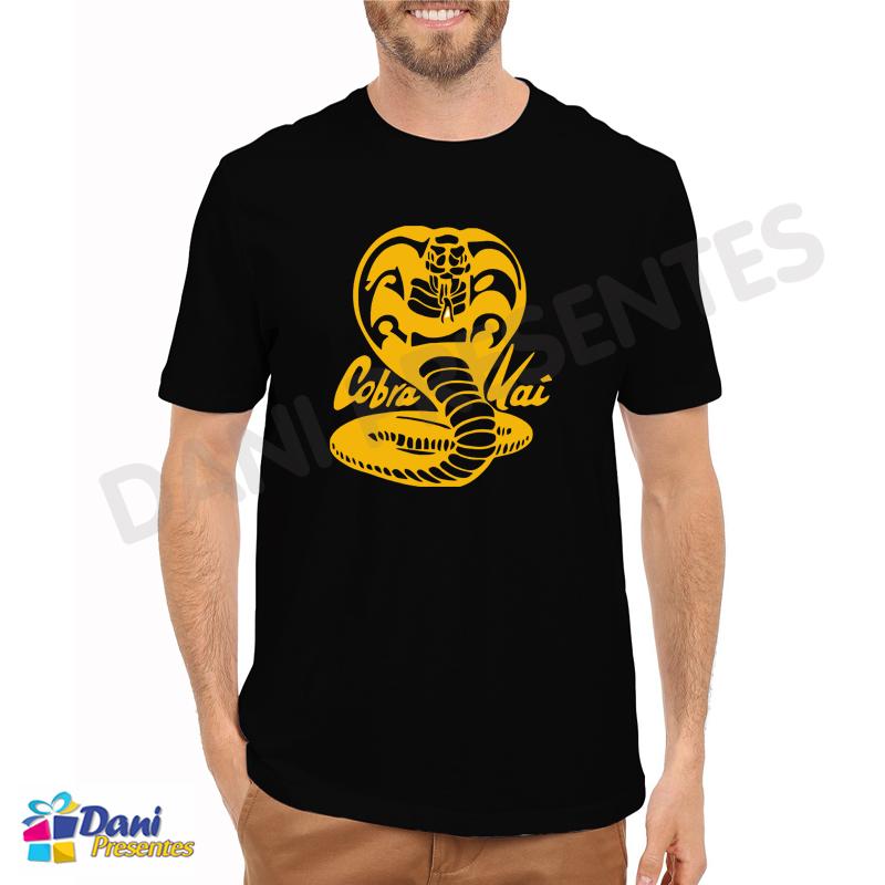 Camiseta Cobra Kai - Karatê Kid