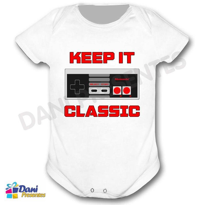 Camiseta Controle Keep It Classic Nintendo