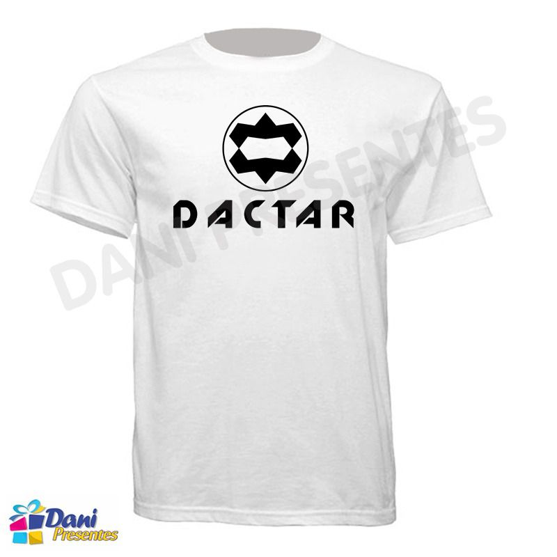 Camiseta Dactar - Retrô Game