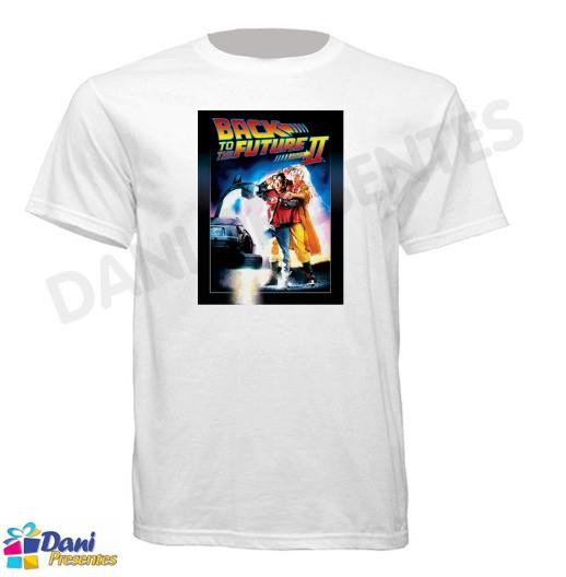 Camiseta De Volta para o Futuro II