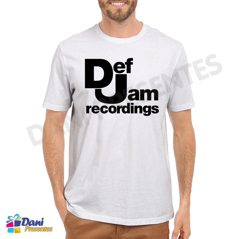 Camiseta Def Jam Recordings