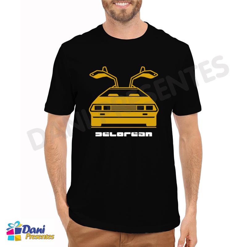 Camiseta Delorean - Anos 80