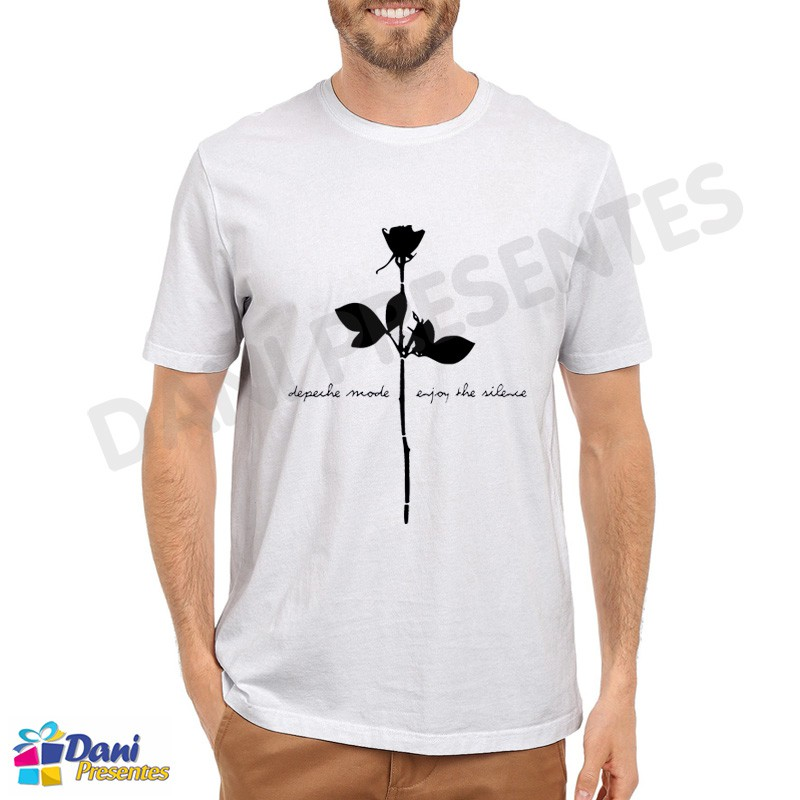 Camiseta Depeche Mode Enjoy the Silence