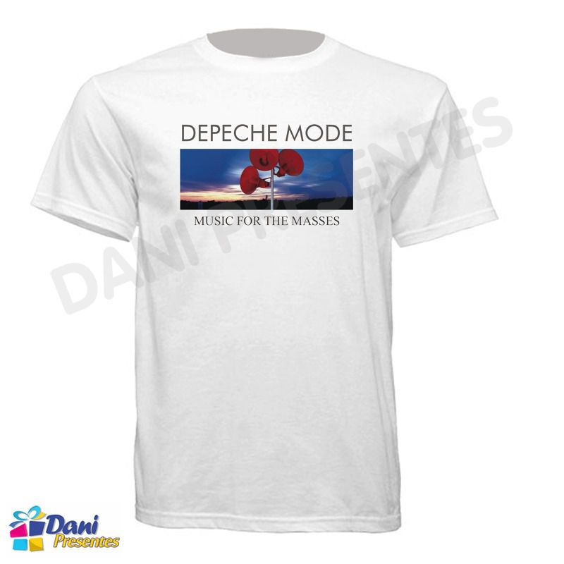 Camiseta Depeche Mode Music For The Masses