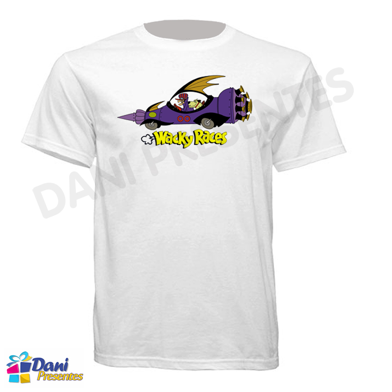 Camiseta Dick Vigarista - Corrida Maluca - Muttley