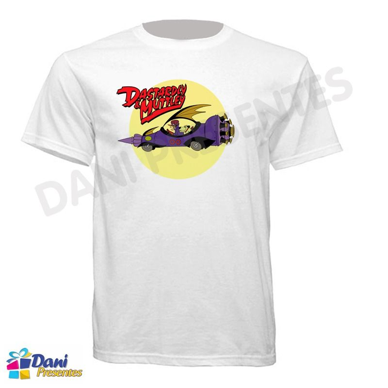 Camiseta Dick Vigarista e Muttley - Dastardly