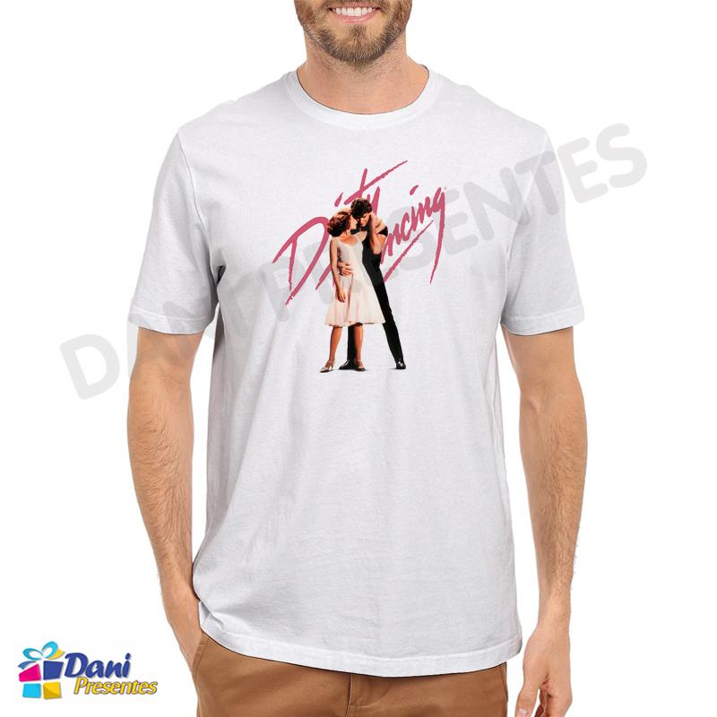 Camiseta Dirty Dancing - Ritmo Quente - Anos 80