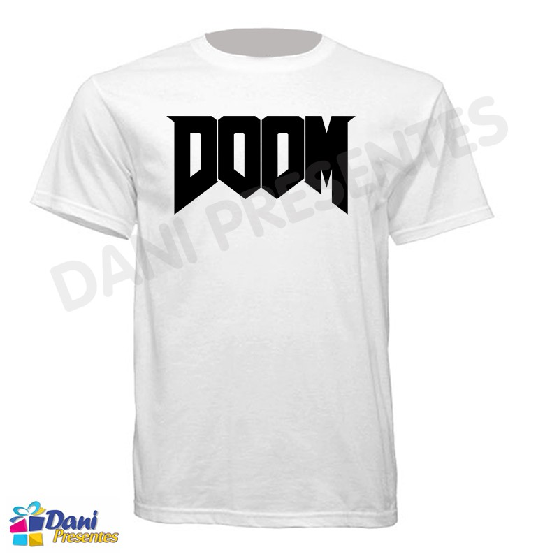 Camiseta Doom - Game anos 90