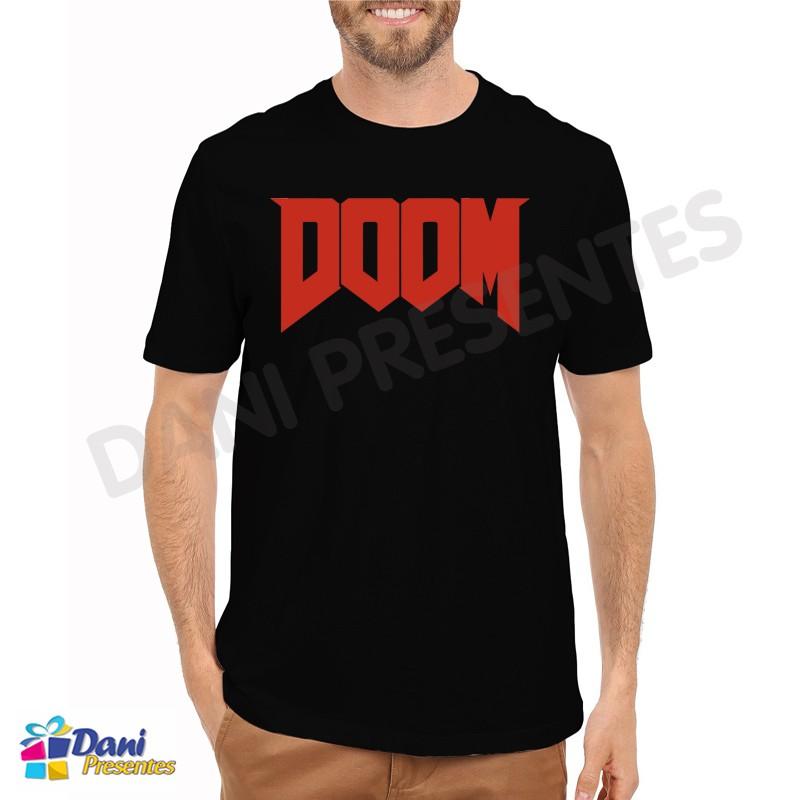 Camiseta Doom - Preta