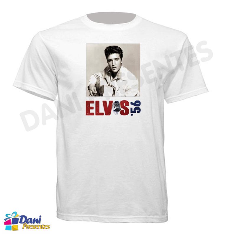 Camiseta Elvis Presley 1956
