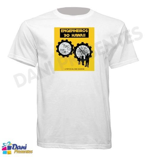 Camiseta Engenheiros do Hawaii - A Revolta dos Dandis