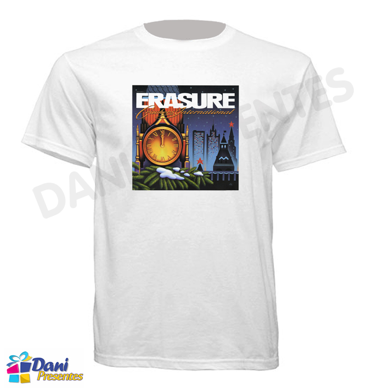 Camiseta Erasure Crackers Internacional 1