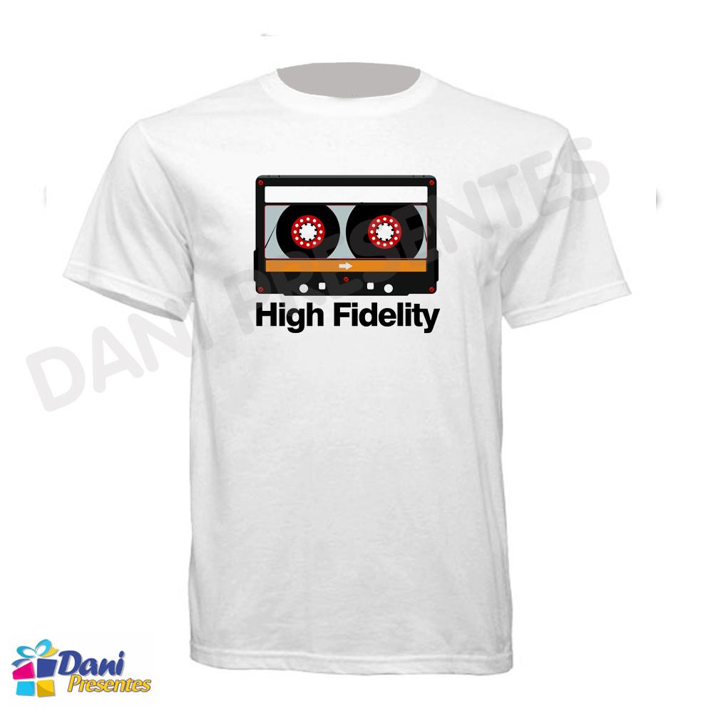Camiseta Fita Cassete - High Fidelity - K7